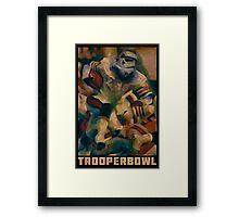 Retro Trooper Bowl One  Framed Print