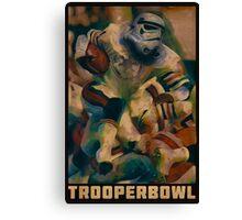 Retro Trooper Bowl One  Canvas Print