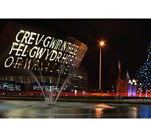 Wales Millennium Centre Photographic Print