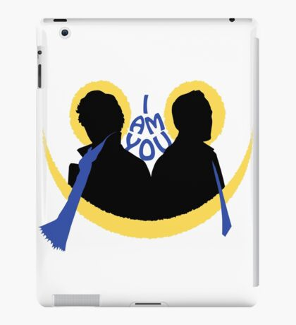 Sherlock and Moriarty - I am You iPad Case/Skin