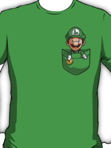 Pocket Luigi Super Mario T-Shirt T-Shirt