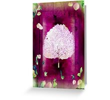 Blossoming Greeting Card