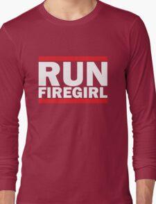 Hunger Games - Run Firegirl Long Sleeve T-Shirt