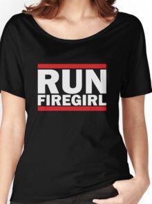 Hunger Games - Run Firegirl Women's Relaxed Fit T-Shirt