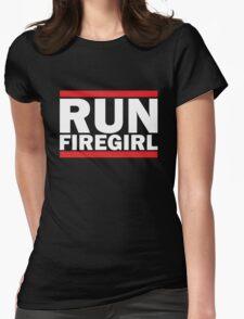 Hunger Games - Run Firegirl Womens Fitted T-Shirt