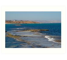 sea scape- Port Noarlunga Art Print