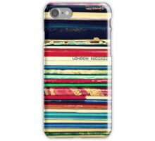 Records 2 iPhone Case/Skin