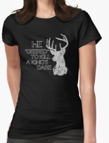 Dare Me Womens Fitted T-Shirt