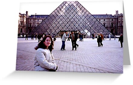 The Louvre - Paris by Trevor Kersley