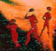 The Dancers  by Virginia McGowan