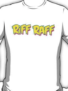 Riff Raff Logo - Neon Icon T-Shirt