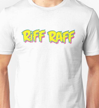Riff Raff Logo - Neon Icon Unisex T-Shirt