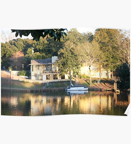 Cane River Lake in Natchitoches, Louisiana Poster