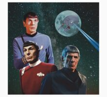 Three Spock Moon Kids Clothes