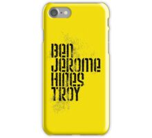 Ben Jerome Hines Troy / Gold iPhone Case/Skin
