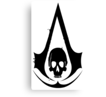 Assassin's Creed Skull Canvas Print
