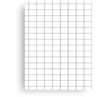 grid Canvas Print
