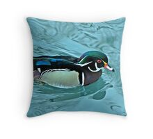 This must have been blown off course durning the gales we've been having of late. Throw Pillow