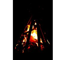 burning tower Photographic Print