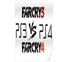 Ps3Fc3 Vs. Ps4Fc4 Poster