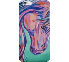 """Colorful Horse Painting """"Prancing Sky"""" iPhone Case/Skin"""