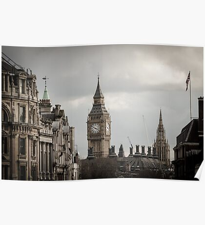 London, Big Ben tower Poster