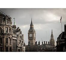 London, Big Ben tower Photographic Print