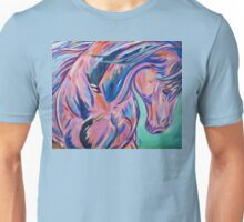 "Colorful Horse Painting ""Prancing Sky"" Unisex T-Shirt"