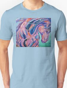 """Colorful Horse Painting """"Prancing Sky"""" T-Shirt"""