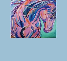"Colorful Horse Painting ""Prancing Sky"" T-Shirt"