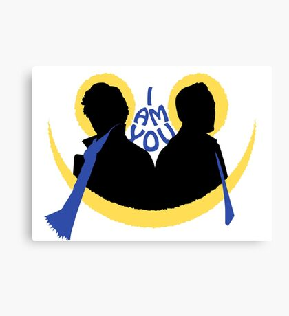 Sherlock and Moriarty - I am You Canvas Print