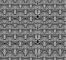 fractal tree leggings by hiddentemple