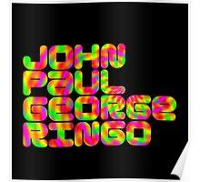 John Paul George Ringo Poster