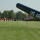 The Old Guard - Summerall Field - Fort Myer Virginia by John Michael