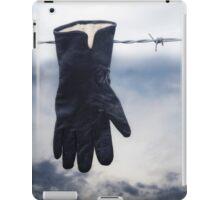 black glove iPad Case/Skin