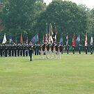 US Army 3d Infantry Regiment - Regimental Formation by John Michael