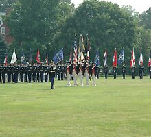 US Army 3d Infantry Regiment - Regimental Formation by John Michael
