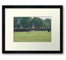 US Army 3d Infantry Regiment - Regimental Formation Framed Print