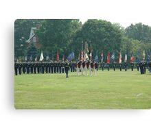 US Army 3d Infantry Regiment - Regimental Formation Canvas Print