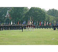 US Army 3d Infantry Regiment - Regimental Formation Photographic Print