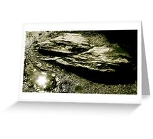 Puddlesun Greeting Card