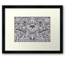 Airplanes Framed Print