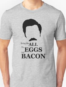 Ron Swanson (Eggs & Bacon) T-Shirt