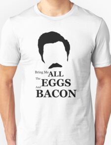 Ron Swanson (Eggs & Bacon) T-Shirt