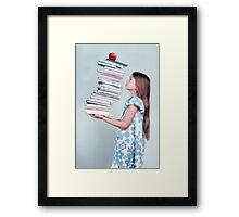 back to school Framed Print