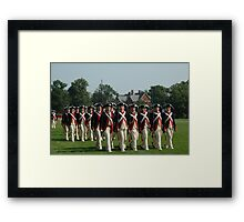 US ARMY 3d Infantry Regiment - Commander in Chief's Guard Framed Print