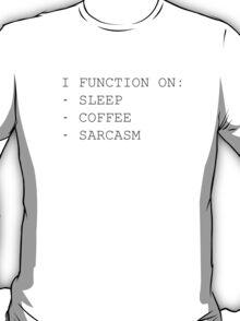 Functionality  T-Shirt