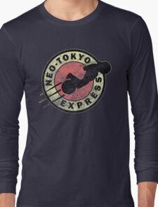 Neo-Tokyo Express (Vintage) Long Sleeve T-Shirt