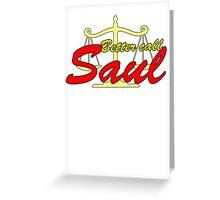 Better Call Saul - Logo Greeting Card