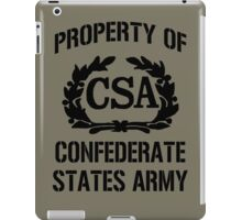 Property of Confederate States Army iPad Case/Skin